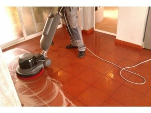 Floor Cleaning And Polishing-